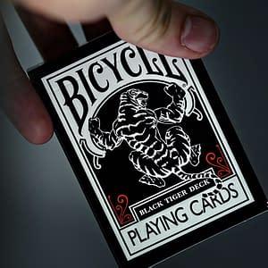 Bicycle Black Tiger – Red