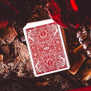 Red Hellions Playing Cards