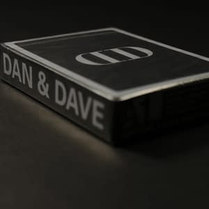 Anyone X Dan and Dave Mirror Playing Cards