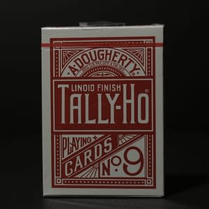 Tally Ho Fan Back Playing Cards (Red)