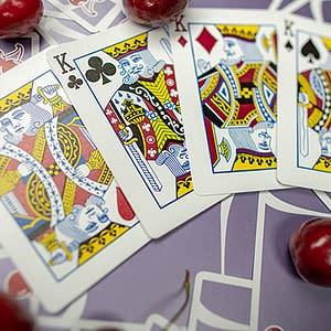 Cherry Casino Playing Cards (Desert Inn Purple)