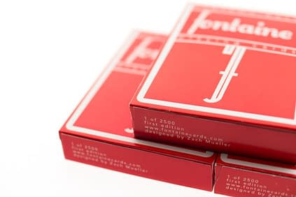 Red fontaines the rarest deck of cards