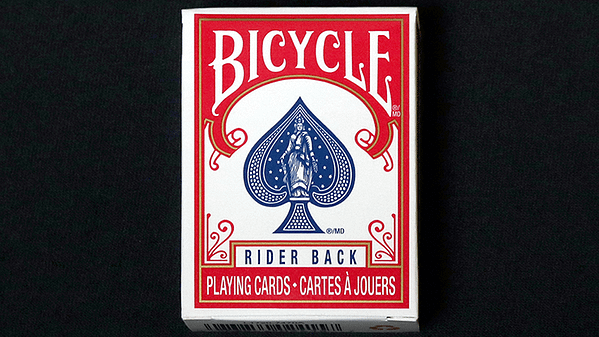 Mini Bicycle Cards Red