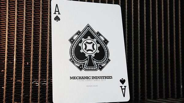 Mechanic Shiner Deck Ace of Spades
