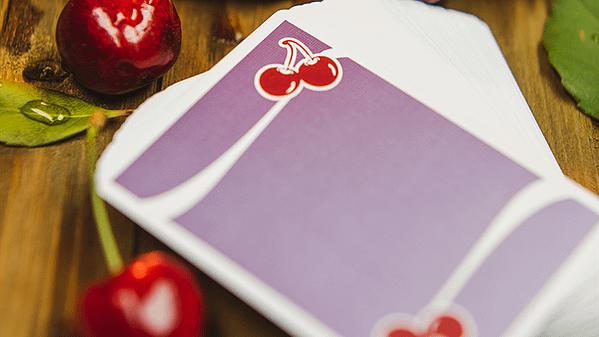 cherry casino purple back design