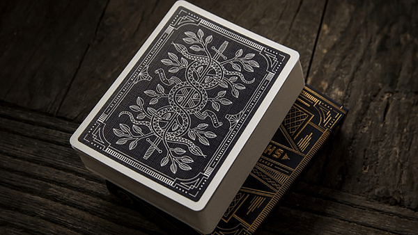 Monarchs Playing Cards Out of Box