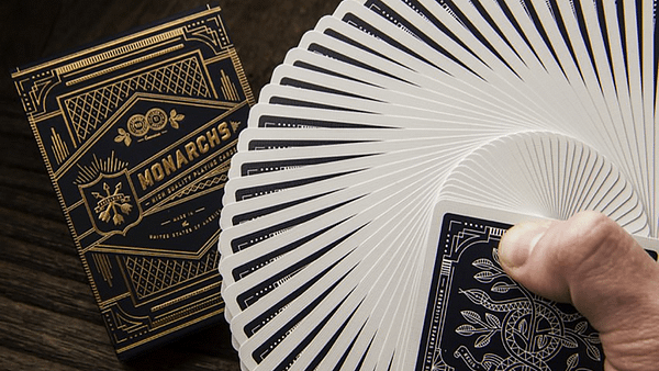 Monarchs Playing Cards Fan